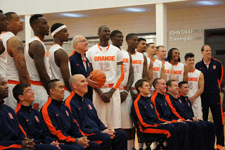 Syracuse Basketball Media Day