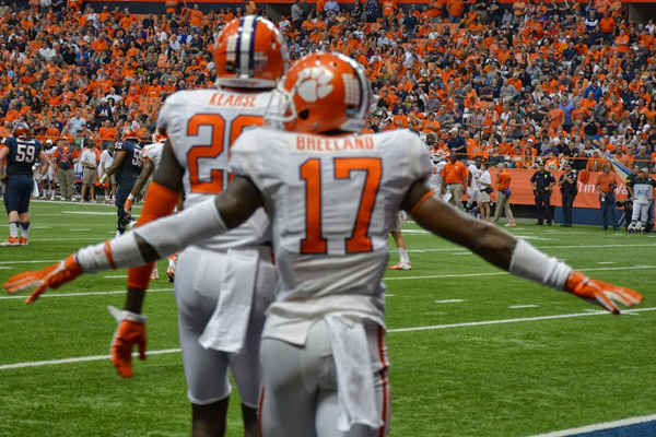 No. 3 Clemson proves to be too much for the Orange to handle