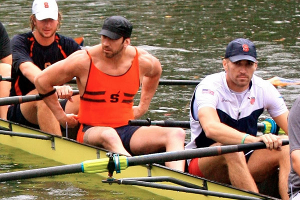 A Night of Fun, Games, and Intense Races with SU Rowers