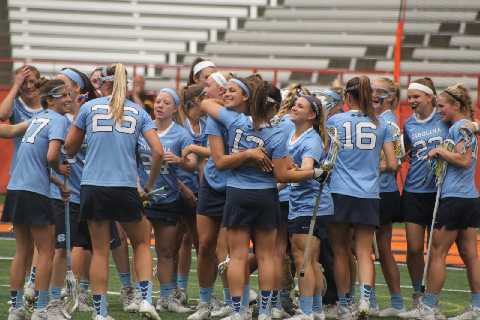 North Carolina Women Prevail in One-Goal Game Against Syracuse
