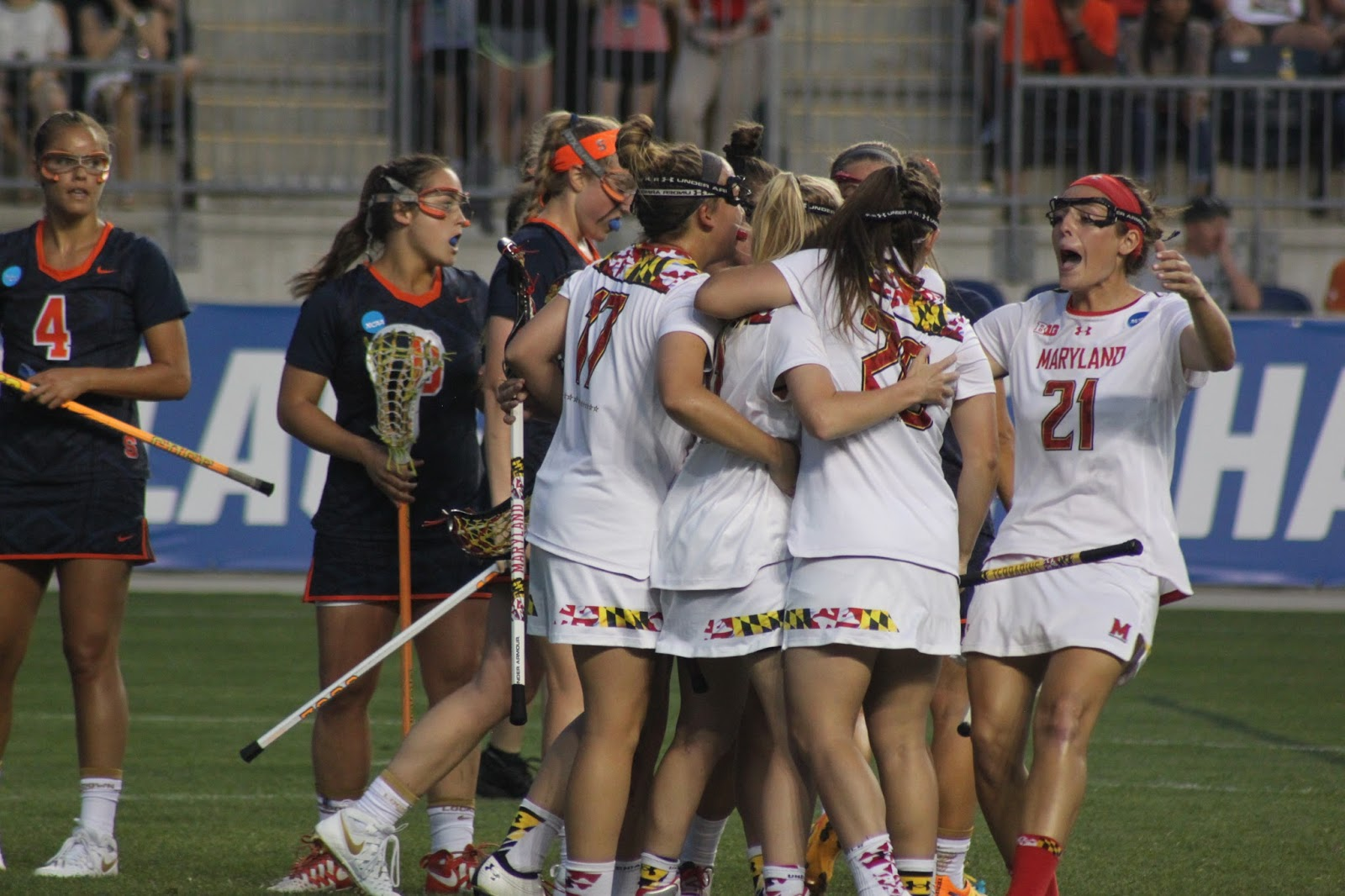Terps Dominate Orange Women Again in NCAA Semi