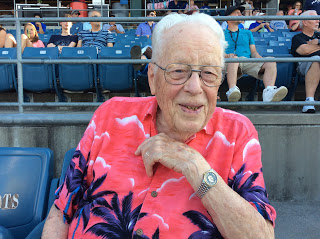The Centenarian In The Stands
