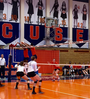 Volleyball: Colgate Comes Back to Beat Orange