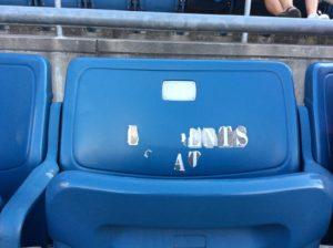 Waful stadium seat