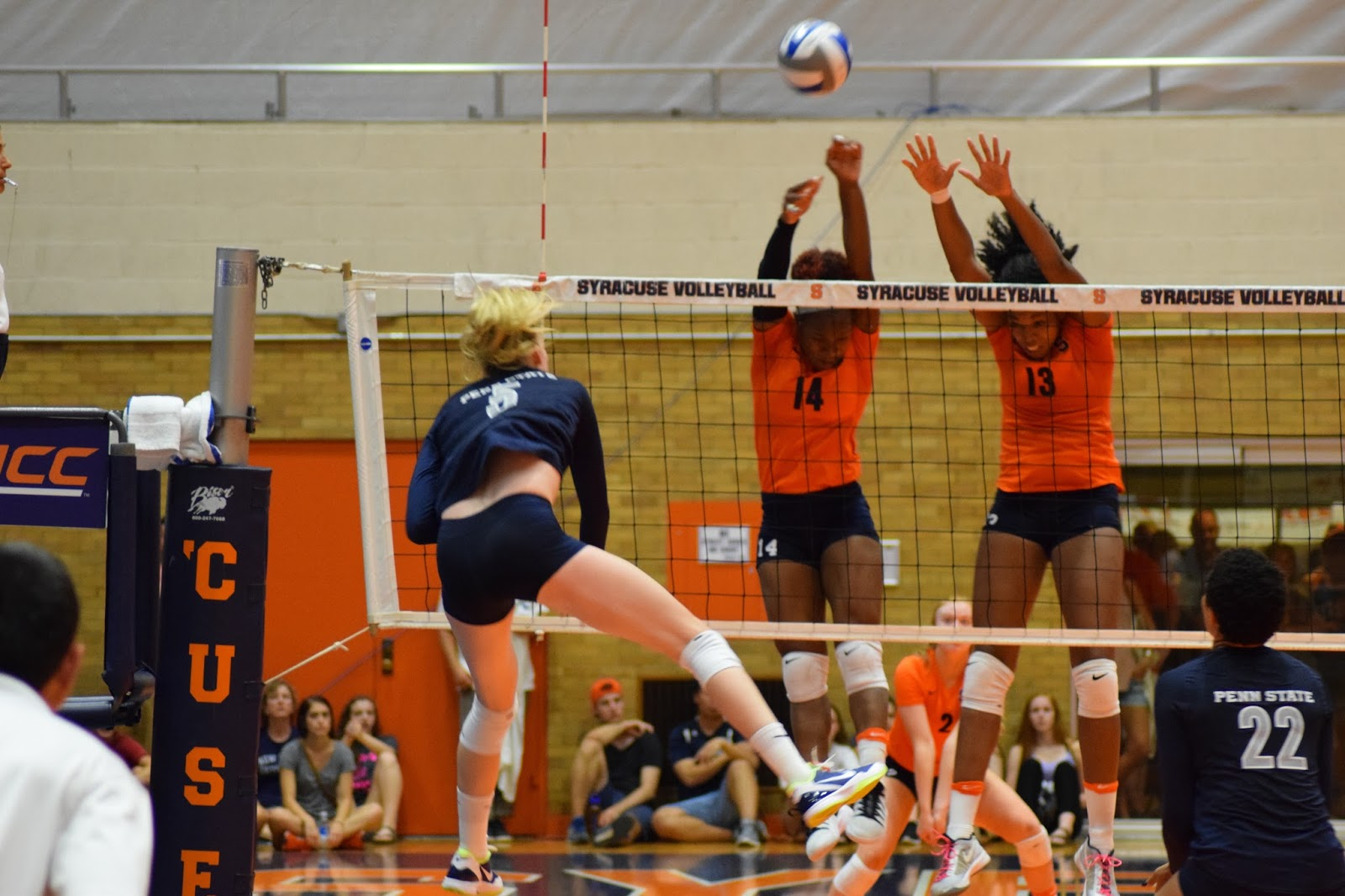 Volleyball: Penn State Sweeps Orange to Win Syracuse Tournament