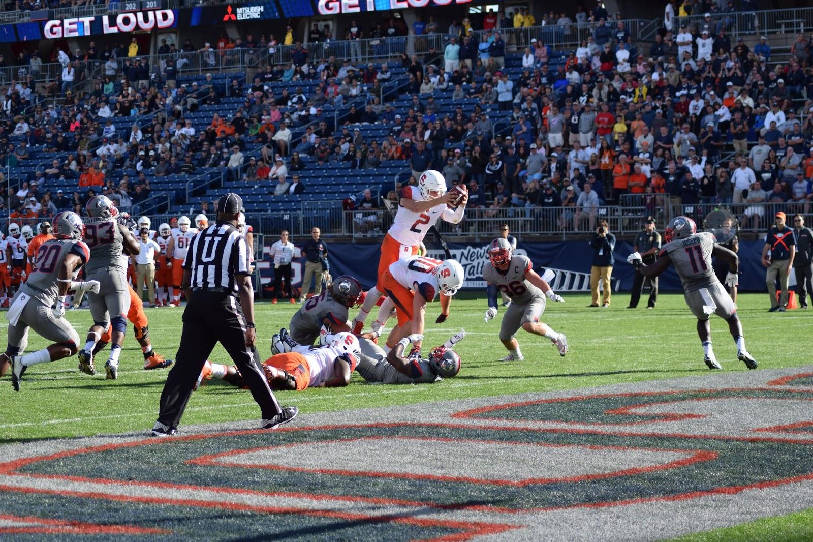 Defense Big as Orange Upsets Huskies on the Road