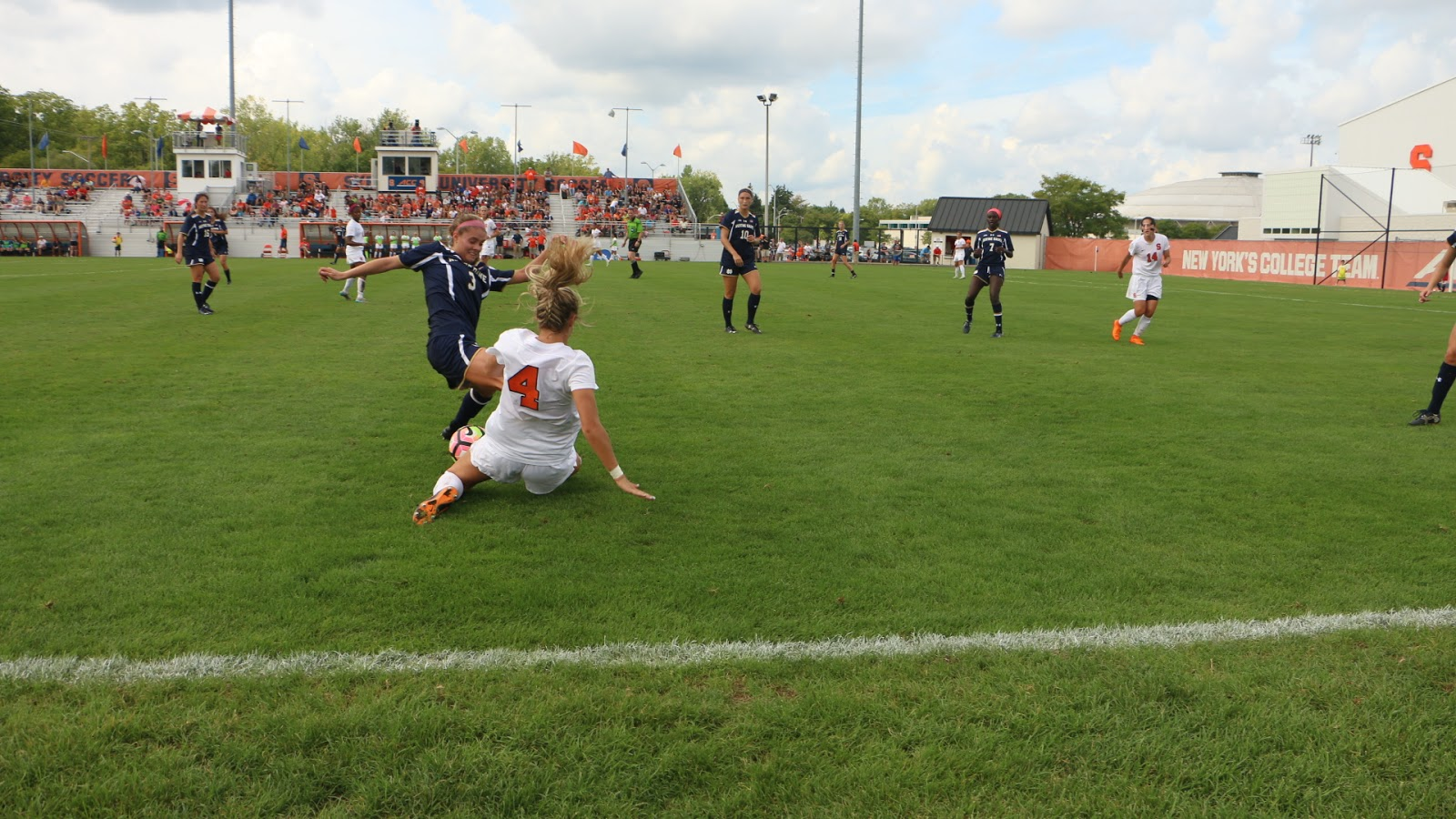 Women's Soccer: Syracuse and Notre Dame settle for a tie