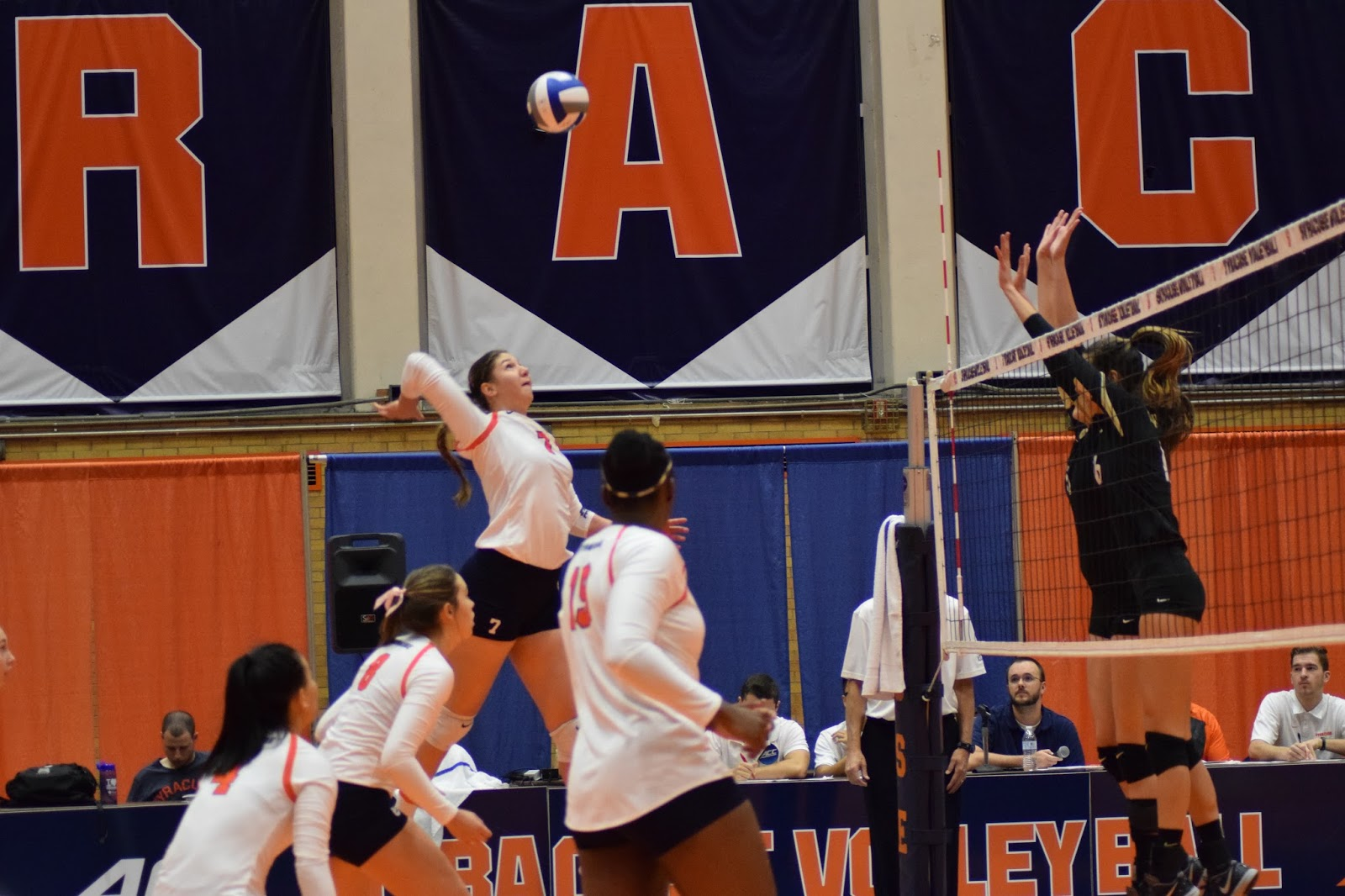 Volleyball: Orange Comes Back to Down Demon Deacons