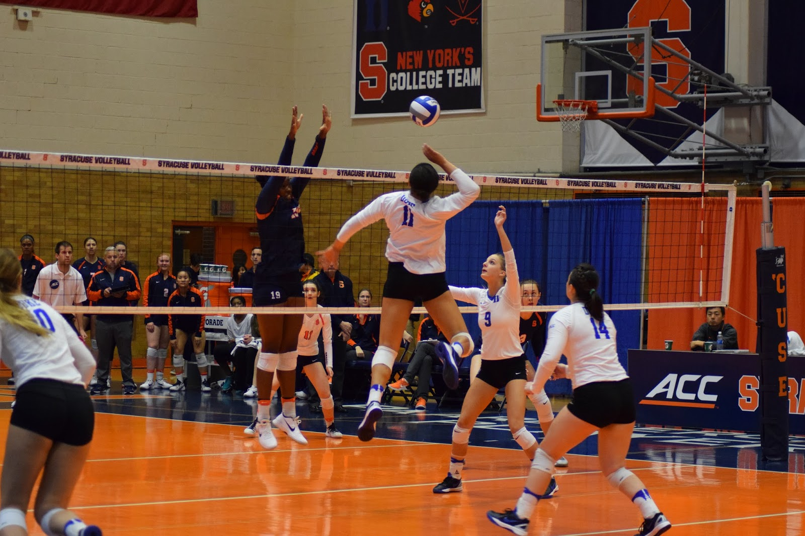 Volleyball: Duke Too Much for Orange in Four-set Win