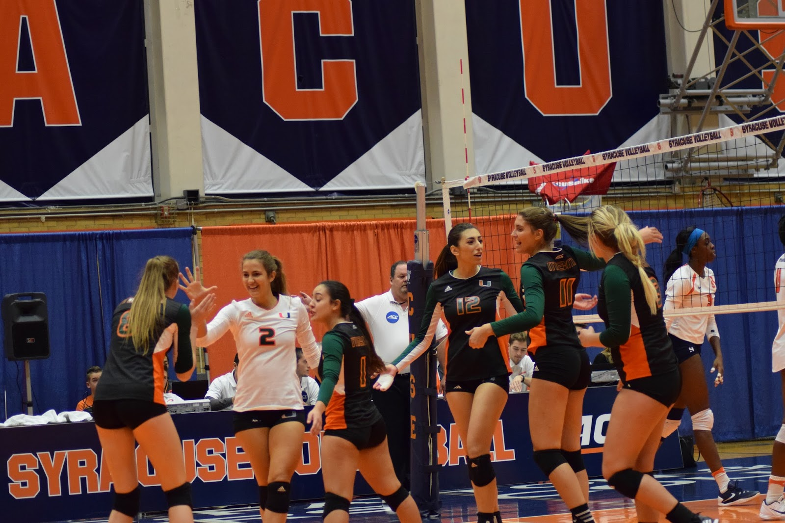 Volleyball: Canes beat Cuse 3-1
