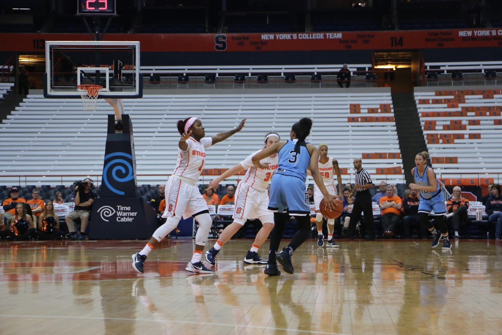 Syracuse Women's Basketball Blasts URI in Season Opener