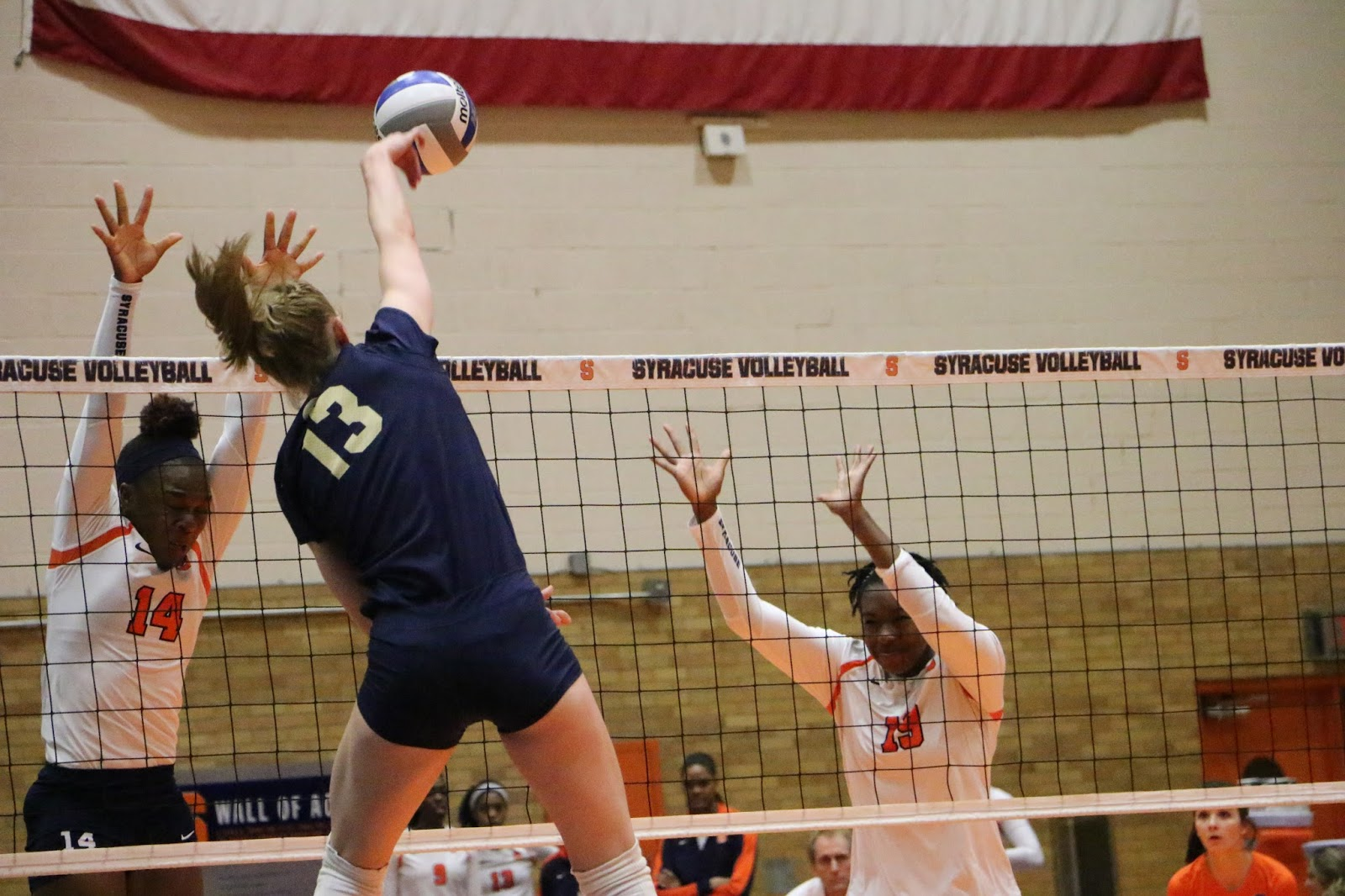 Volleyball: Close Sets as Panthers Beat Orange 3-1