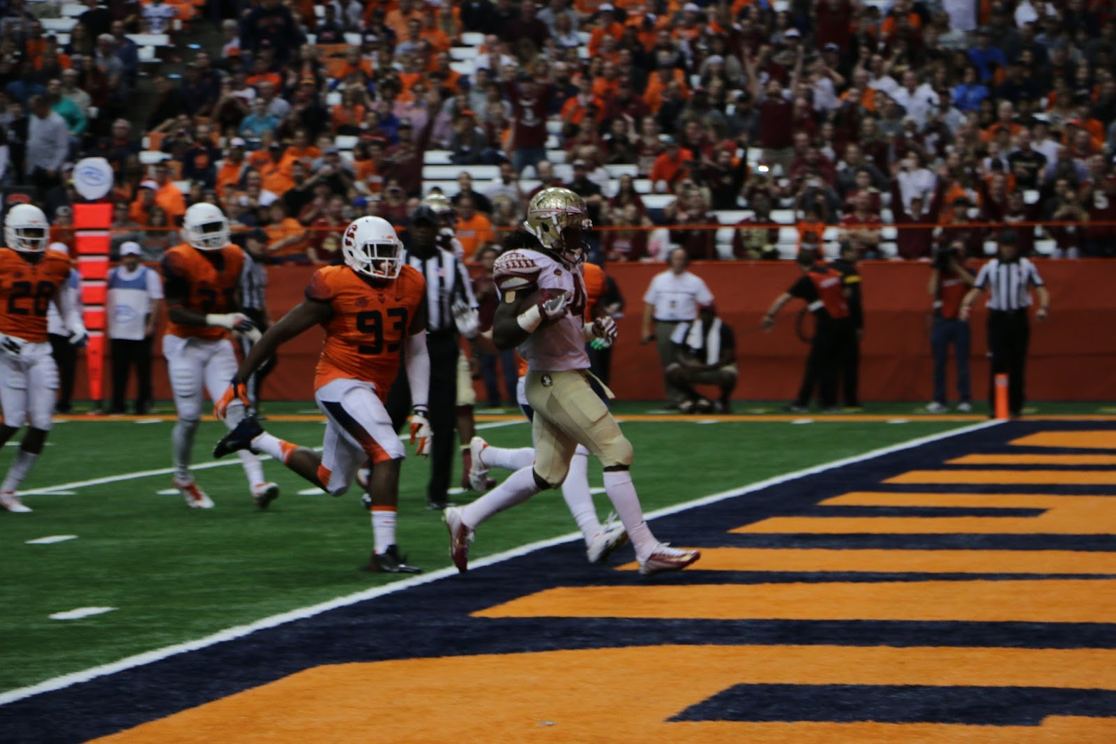 Cook, Florida State Roll over Orange in Home Finale