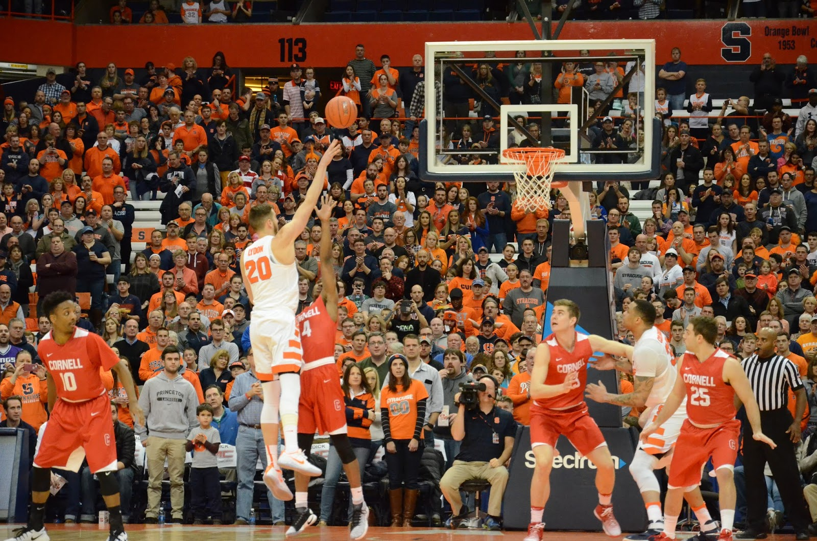 "Boeheim on Win over Cornell – ""Tonight Was a Baby, Baby Step"""