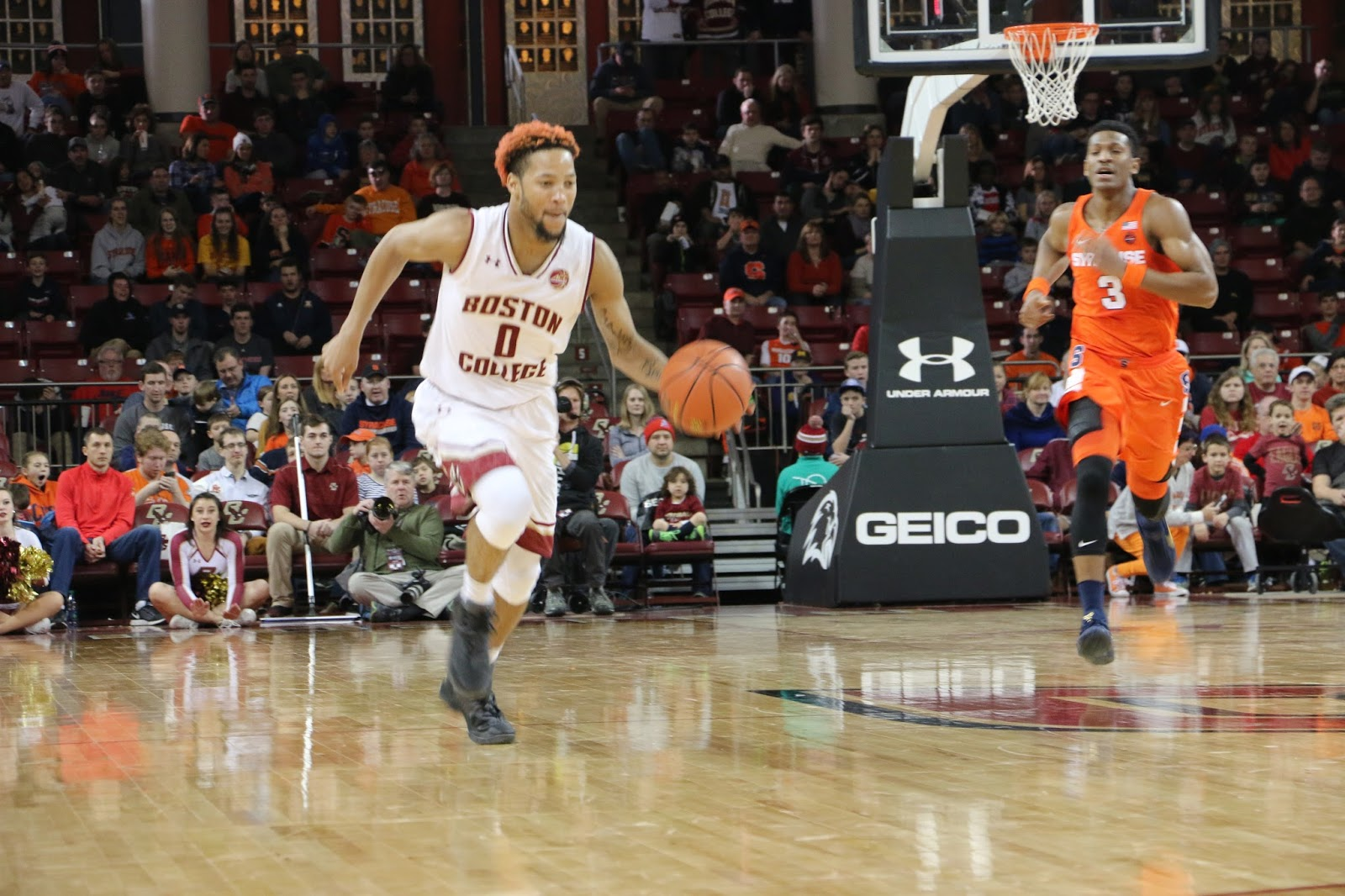 BC Eagles Wallop Syracuse Men in ACC Opener
