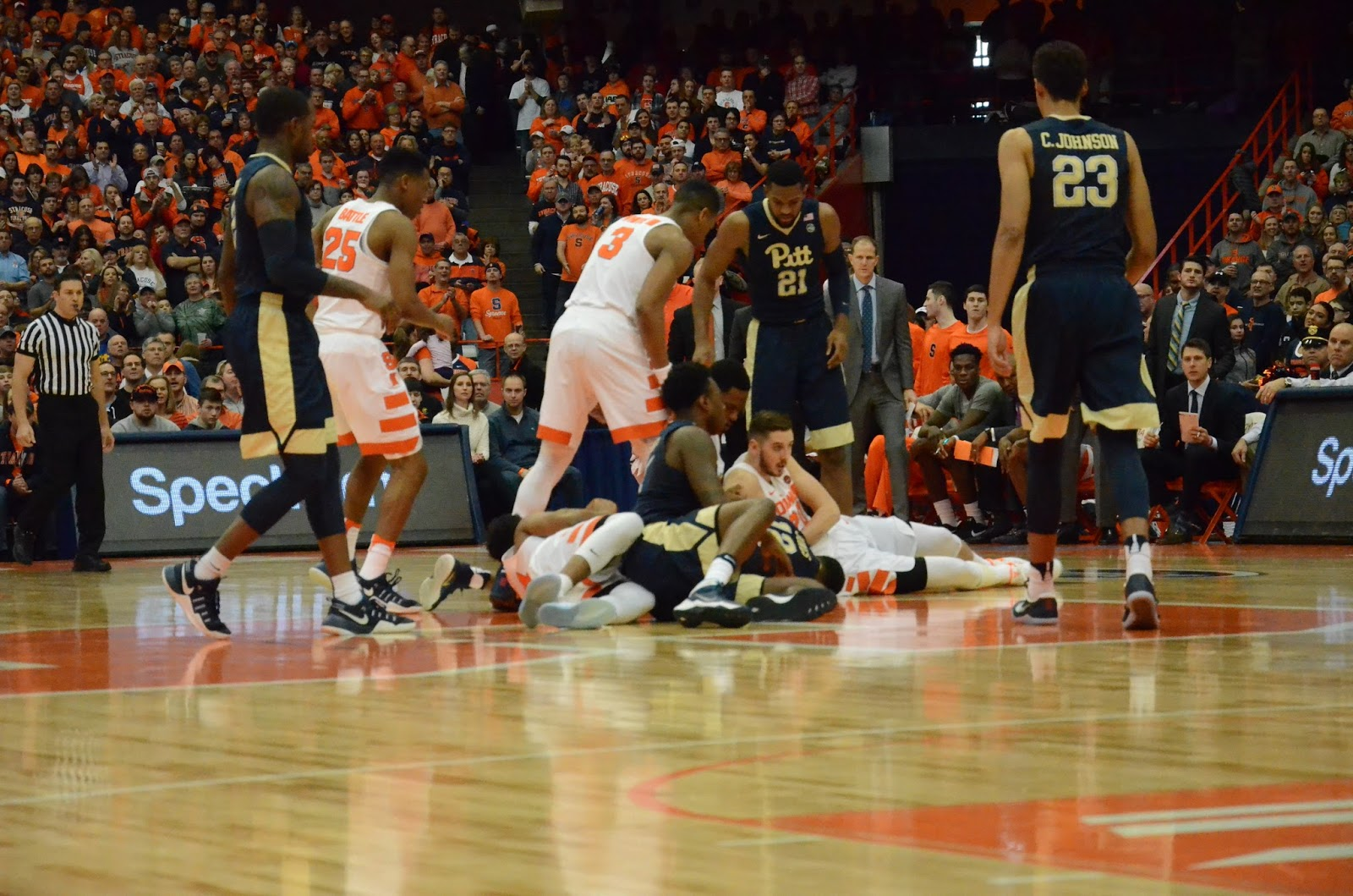 Energized Orange Whips Pitt for Second ACC Win