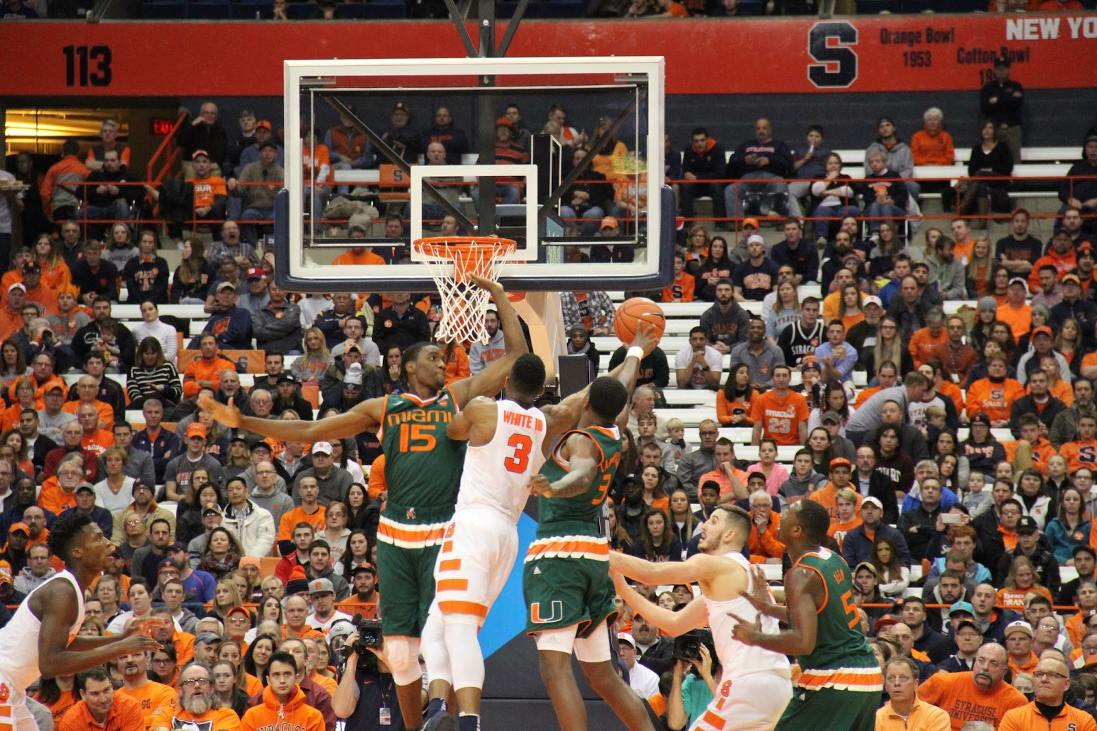 Orange Men Down Miami for First ACC Win