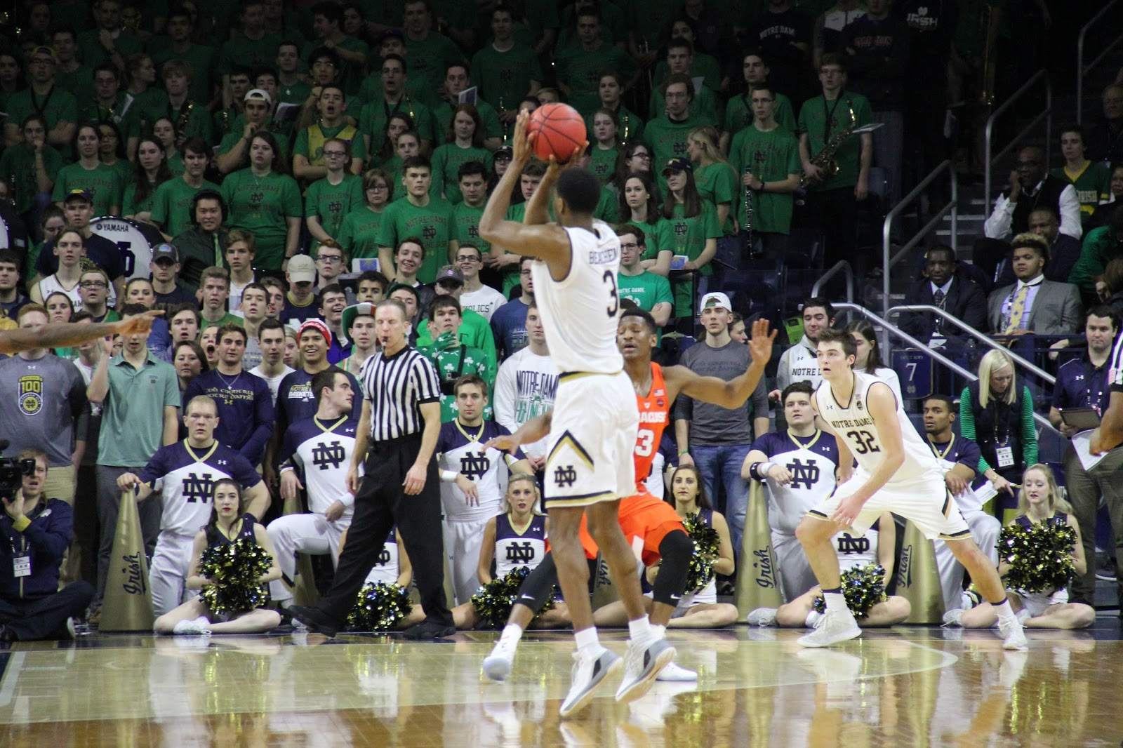 Beachem Lights Up as Irish Dismiss Orange