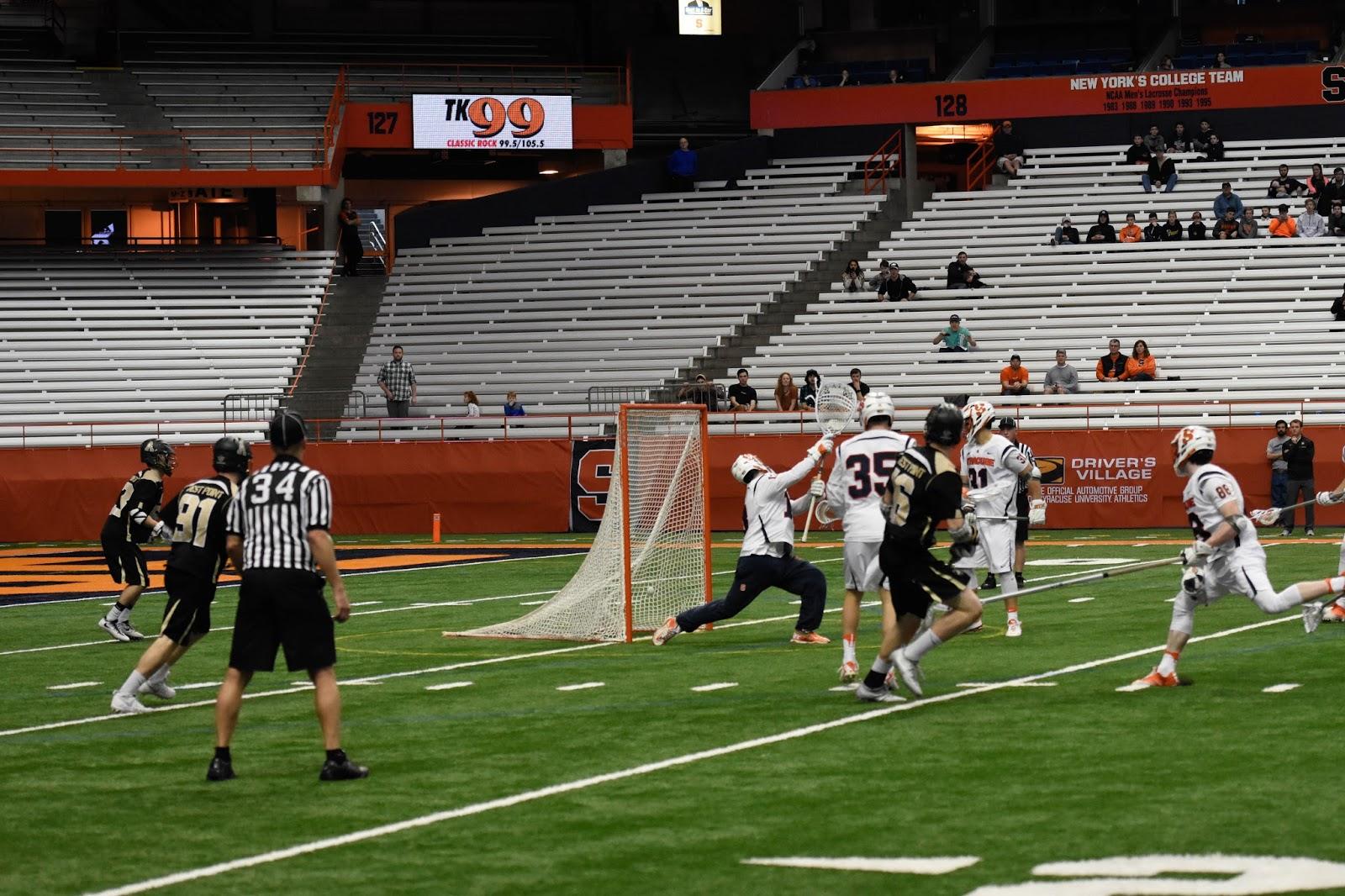 Black Knights Beat Orange Men with Last-second Goal