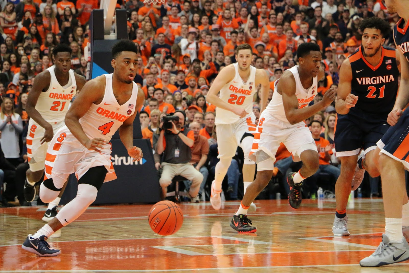 Orange Men Roar Back, Knock Off No. 9 Virginia