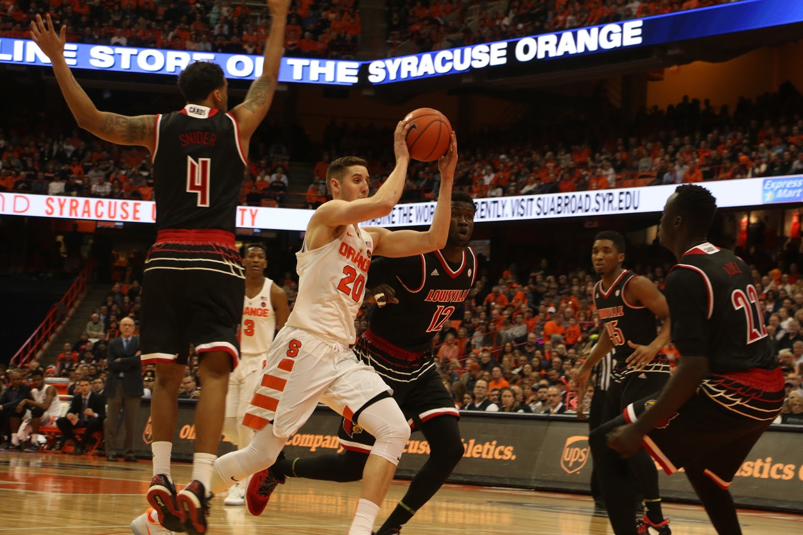 Cardinals Survive Orange Men in OT, 76-72