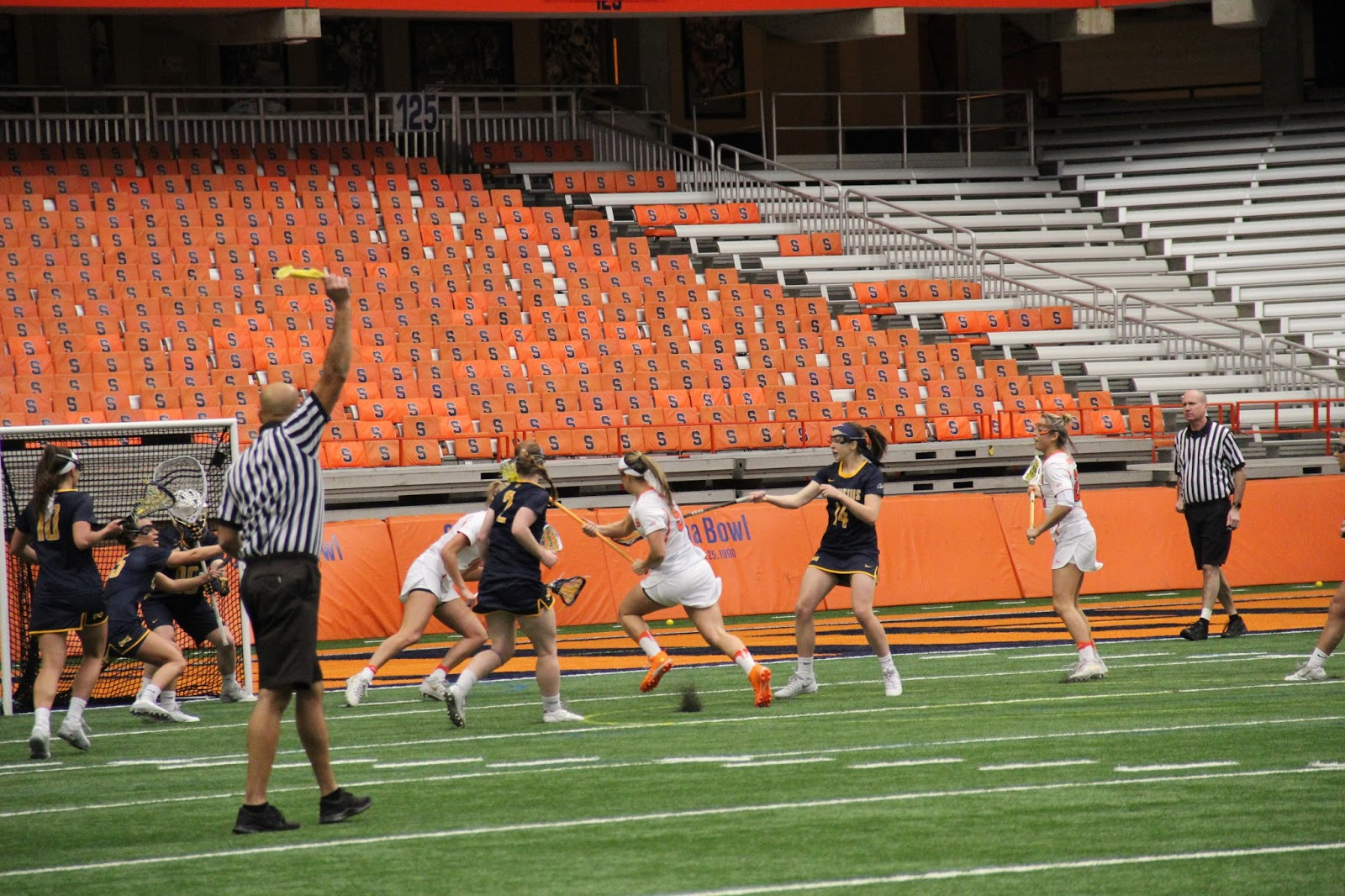 Orange Women Roll Over Canisius in Twin-bill Opener