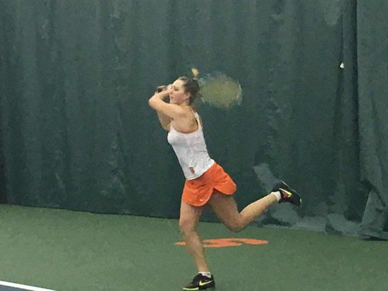 Orange Tennis Gets Win in Home Opener