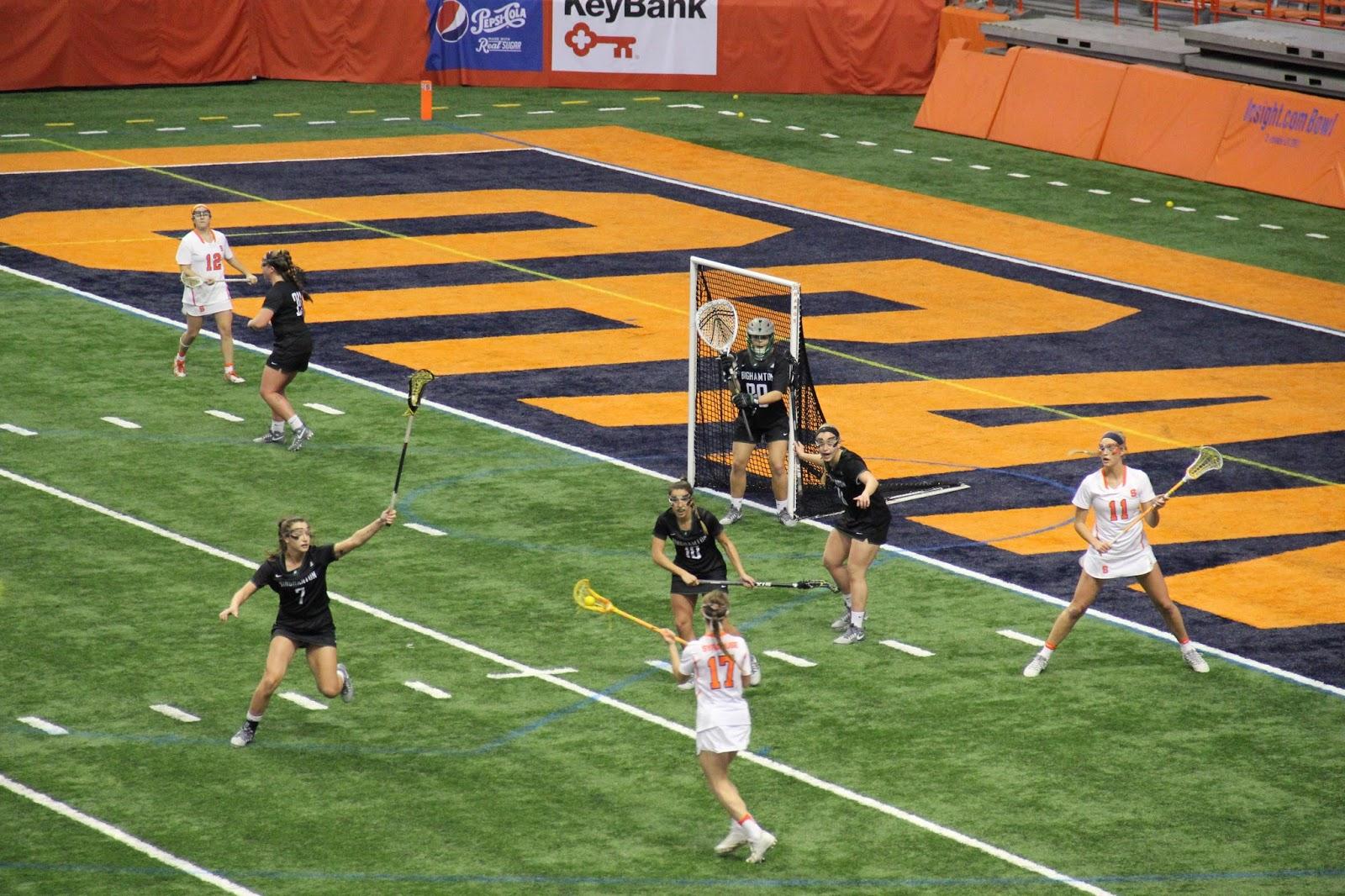 Syracuse Women's Lacrosse Sweeps Doubleheader