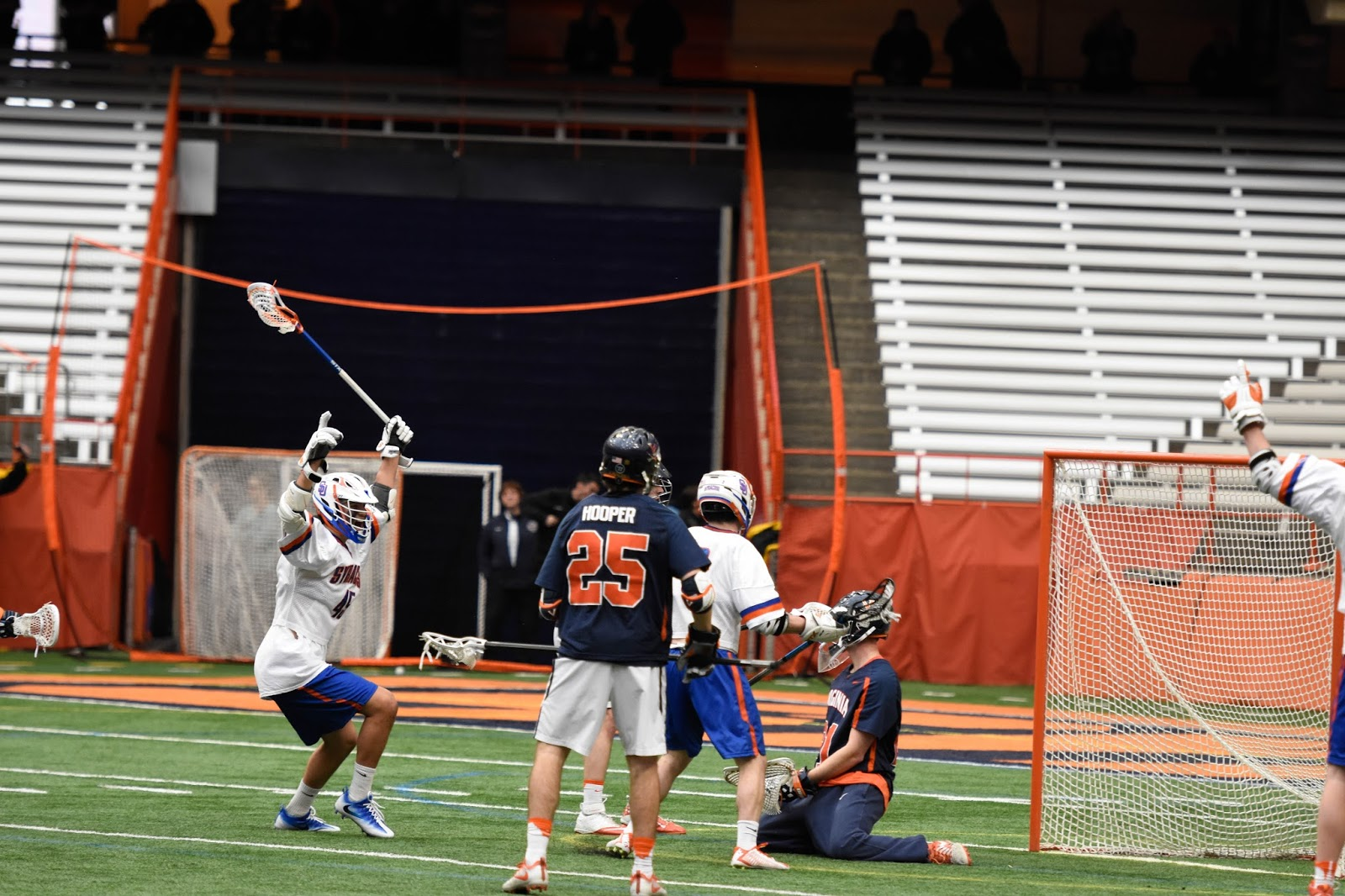 Lacrosse: Orange Men Down Cavs on Last-minute Goal