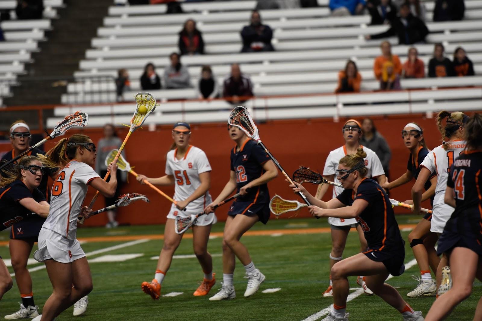 """Anything You Can Do…"" – Orange Women Beat Cavs 16-15"