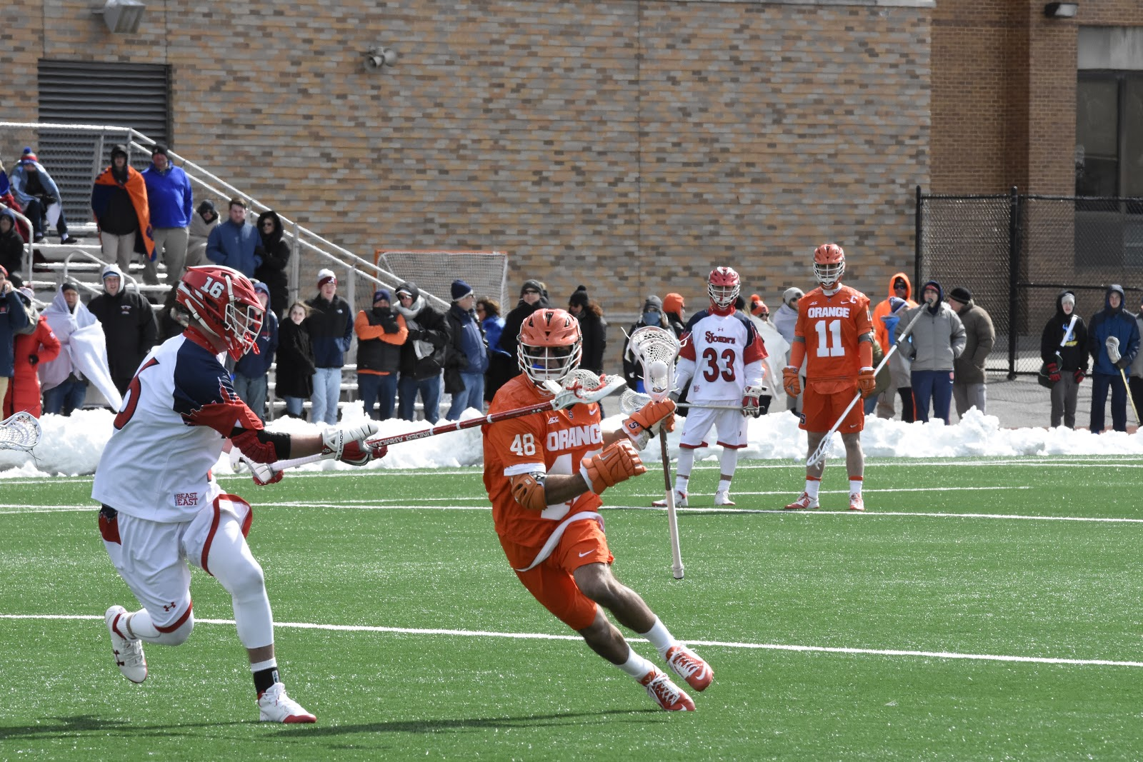 Another One-goal Game to Orange; Survival at St. John's