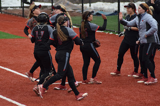 Cardinals Down Orange Softball in SU Home Opener