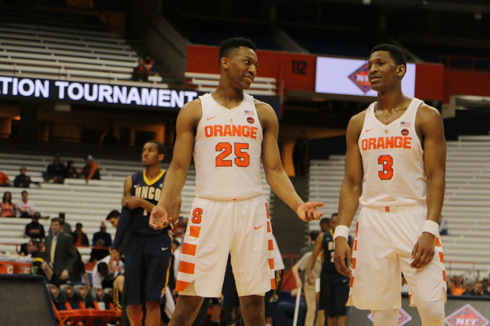 Orange Men Hold Off UNCG to Advance in NIT