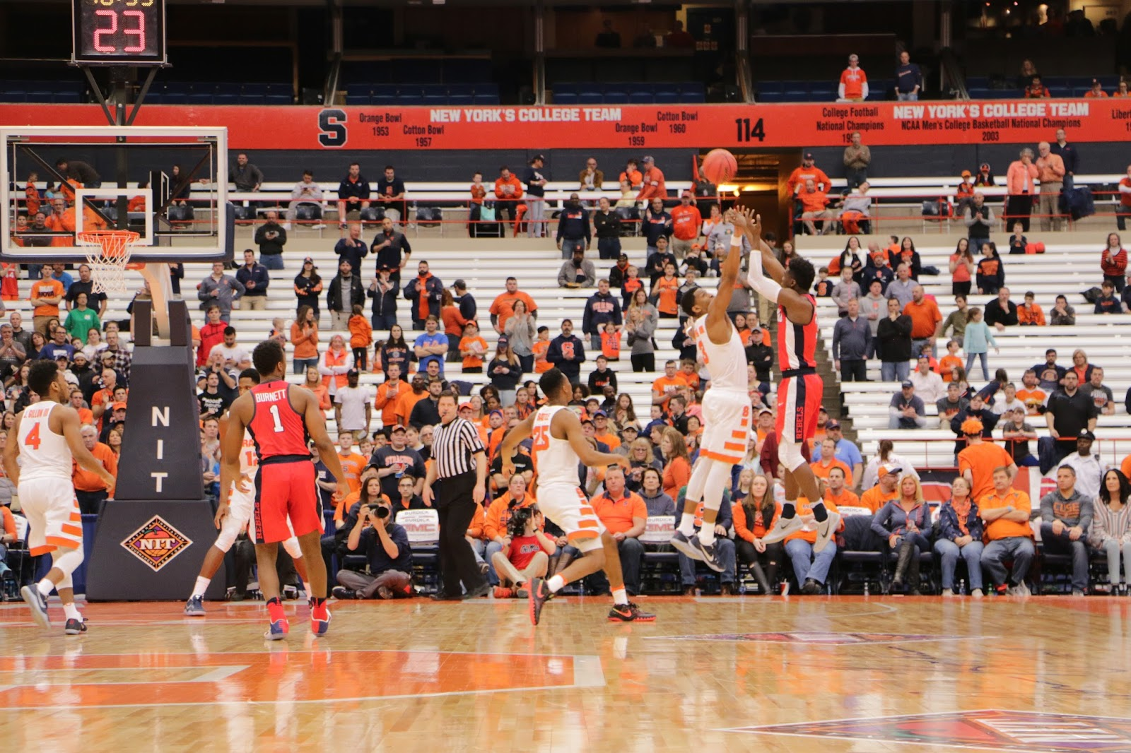 Hit or Miss Season for Syracuse Ends with Ole Miss, 85-80