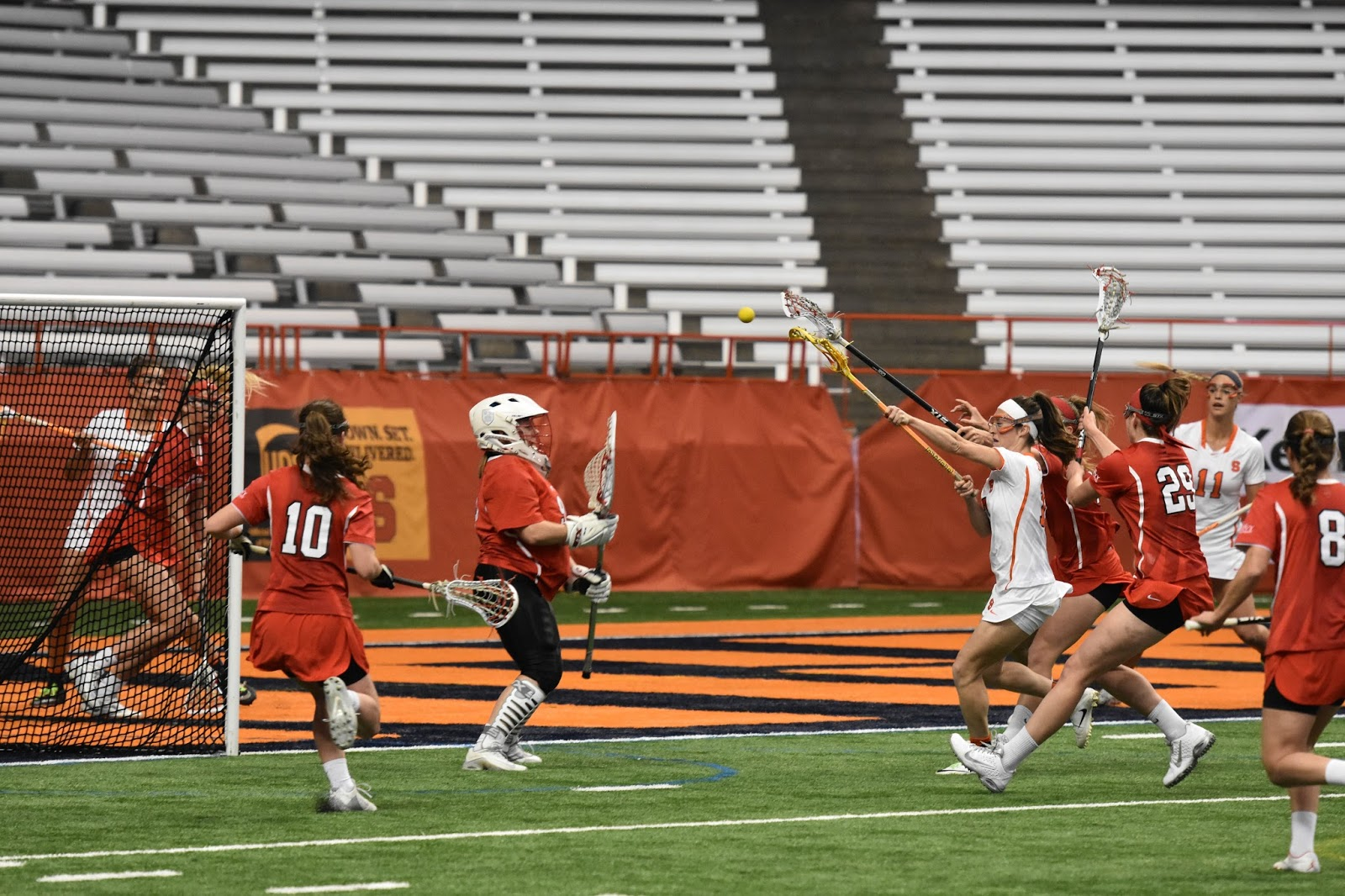 Strong Second Half Gives Orange Women Win Over Big Red