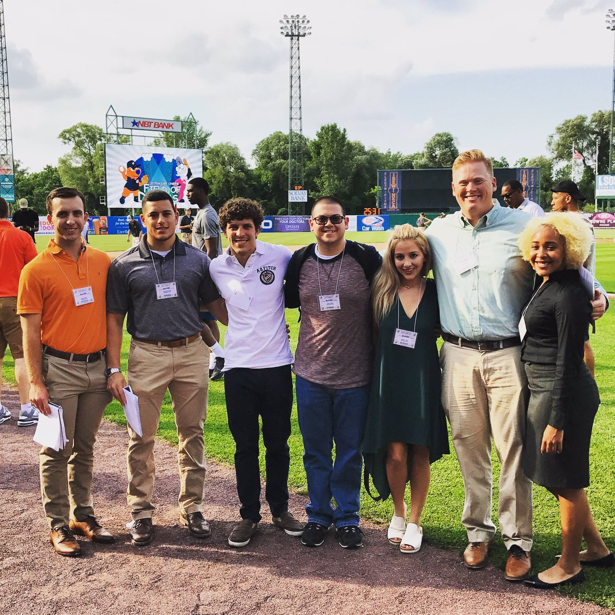Cub Reporters Cover Boeheim's Army at the Ballpark