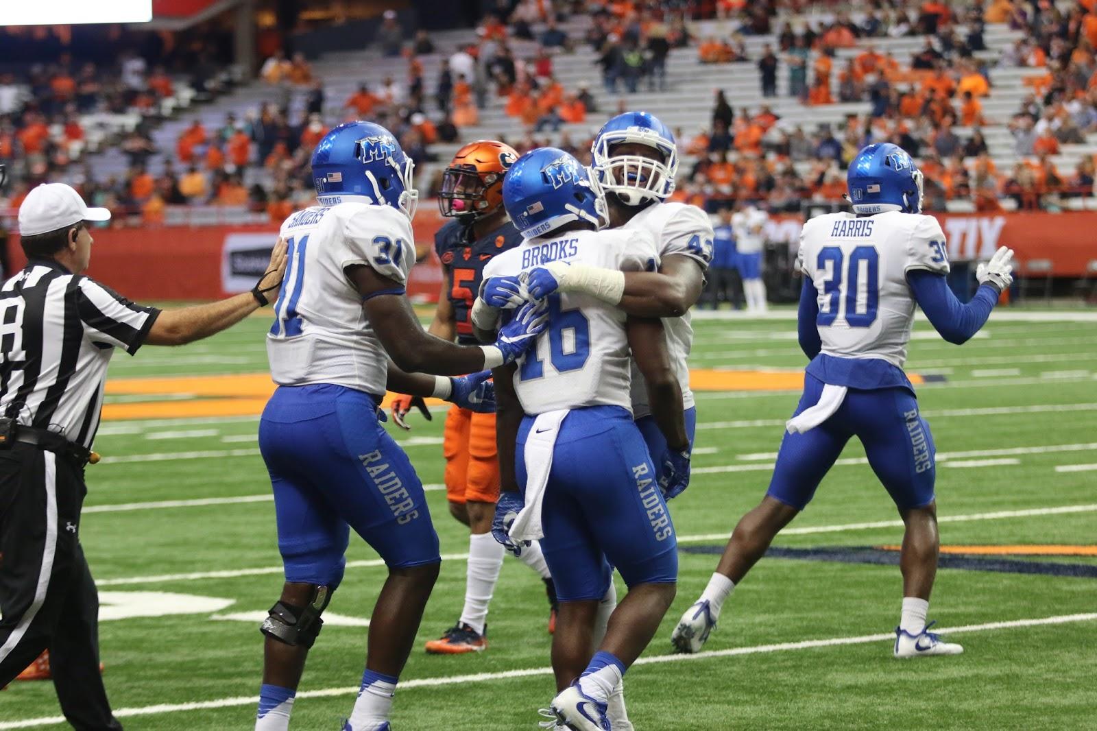 Blue Raiders Down Orange in Shafer Return