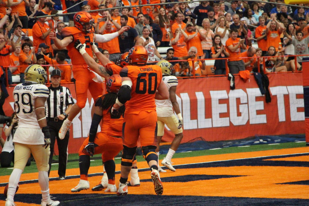 Orange Holds Off Panthers for First ACC Win