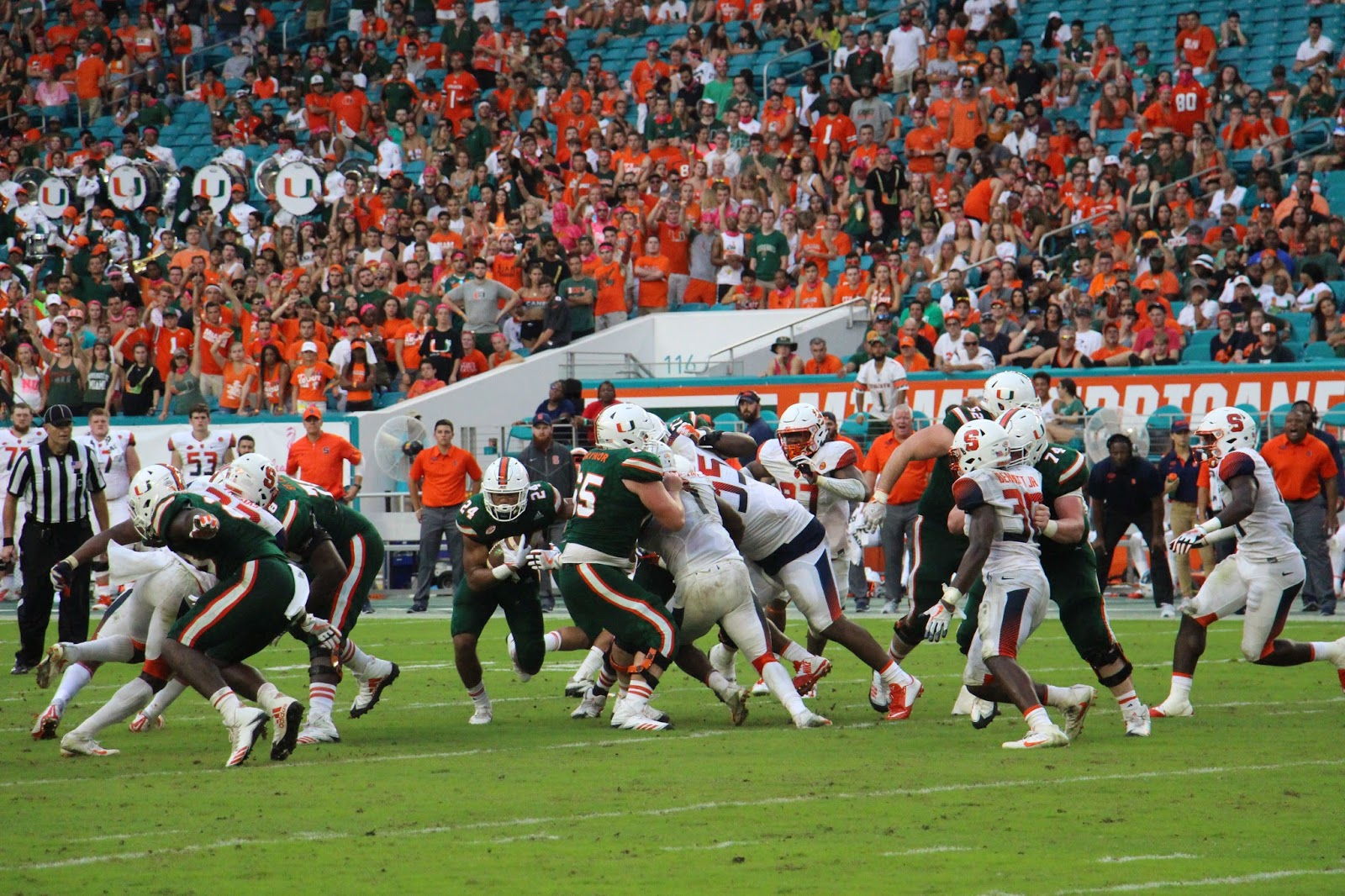 Hurricanes Hold Off Orange in Miami