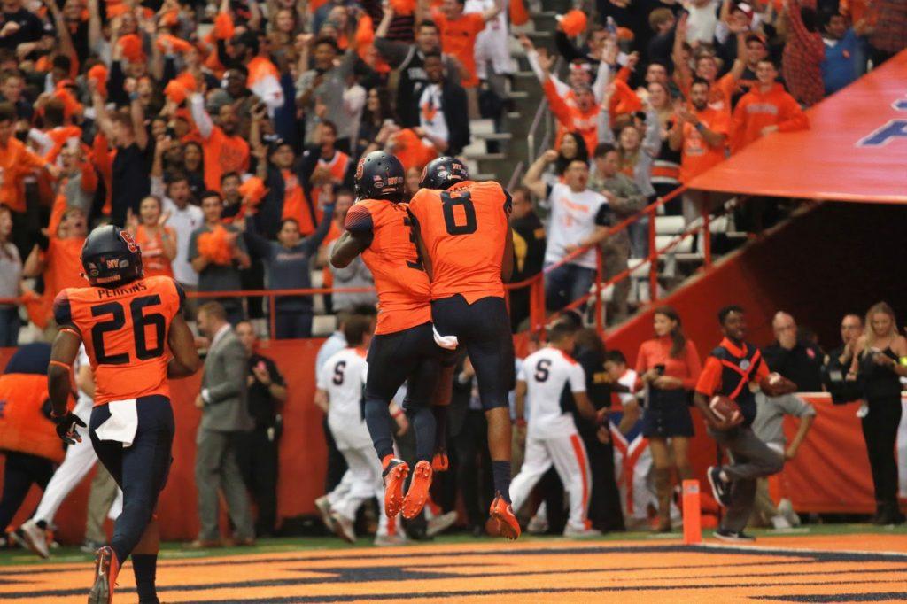 Syracuse Football Upsets #2 Clemson