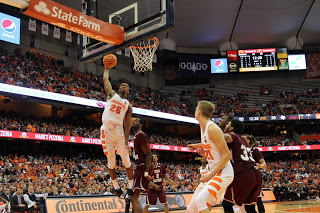 Battle Leads Syracuse Over Texas Southern