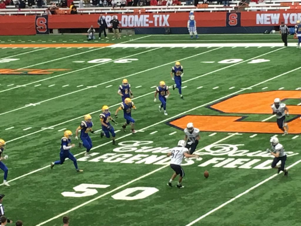 Homer Survives for Section III Class B Football Title