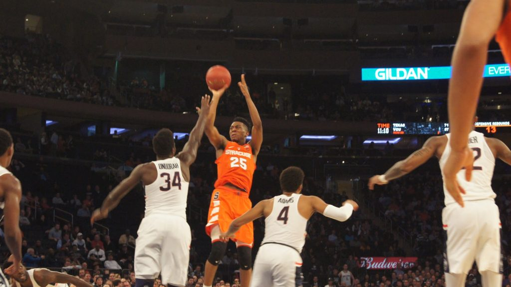 Syracuse Bounce Back With A Victory Against Rival Connecticut