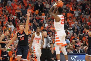Syracuse Struggles Against No. 2 Virginia