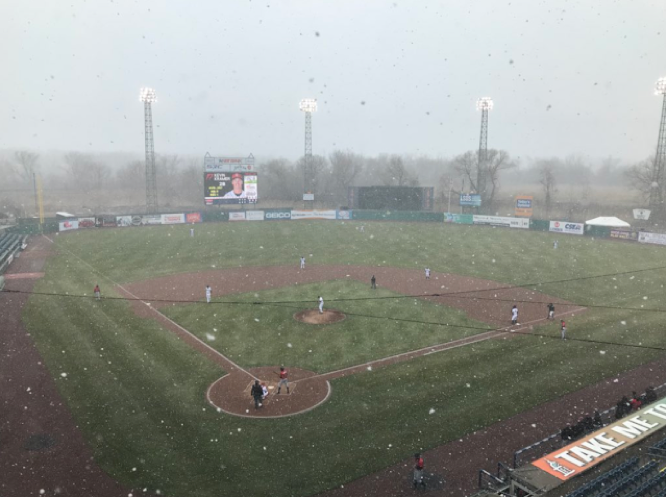 Indians take Shortened, Snowy Showdown versus Chiefs