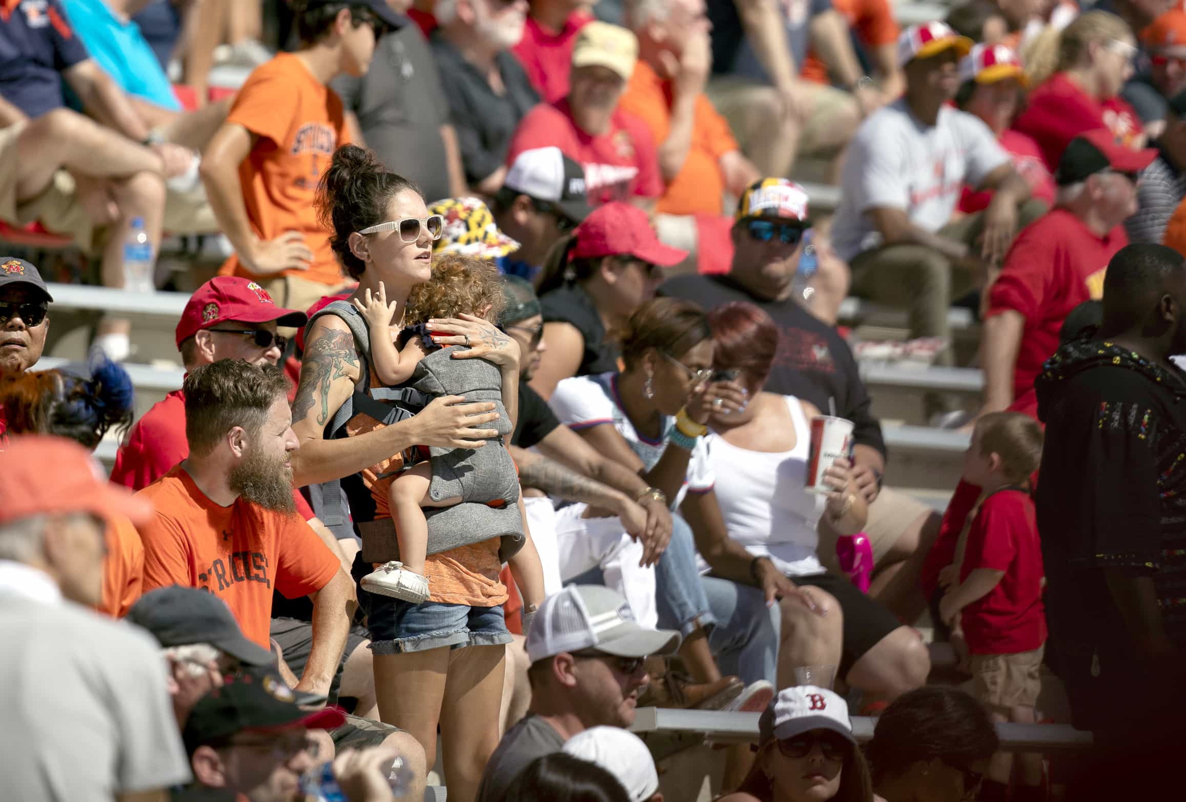 Syracuse fans were not left with much to cheer for in the second half.