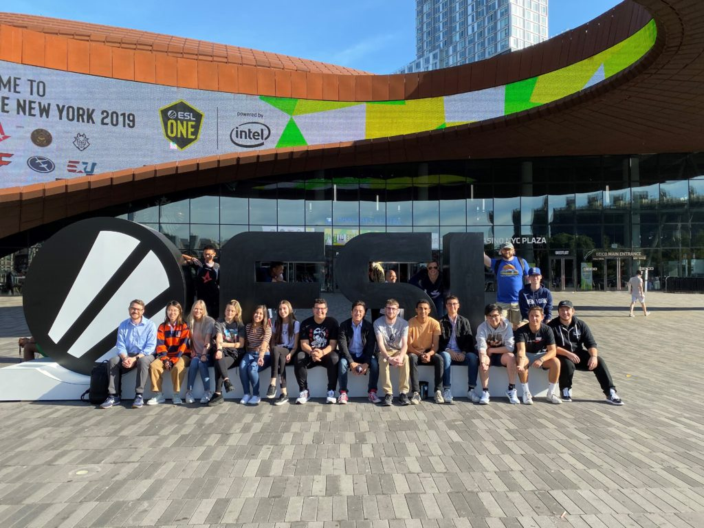 Esports Class Visits NYC to see Tournament