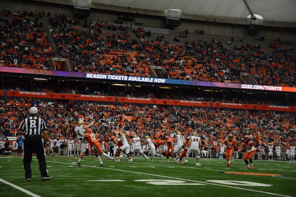 Syracuse Defense Struggles Against Boston College