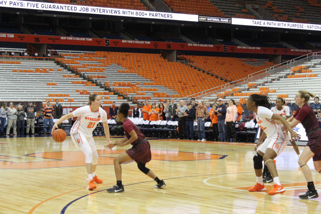 Syracuse WBB Remains Undefeated
