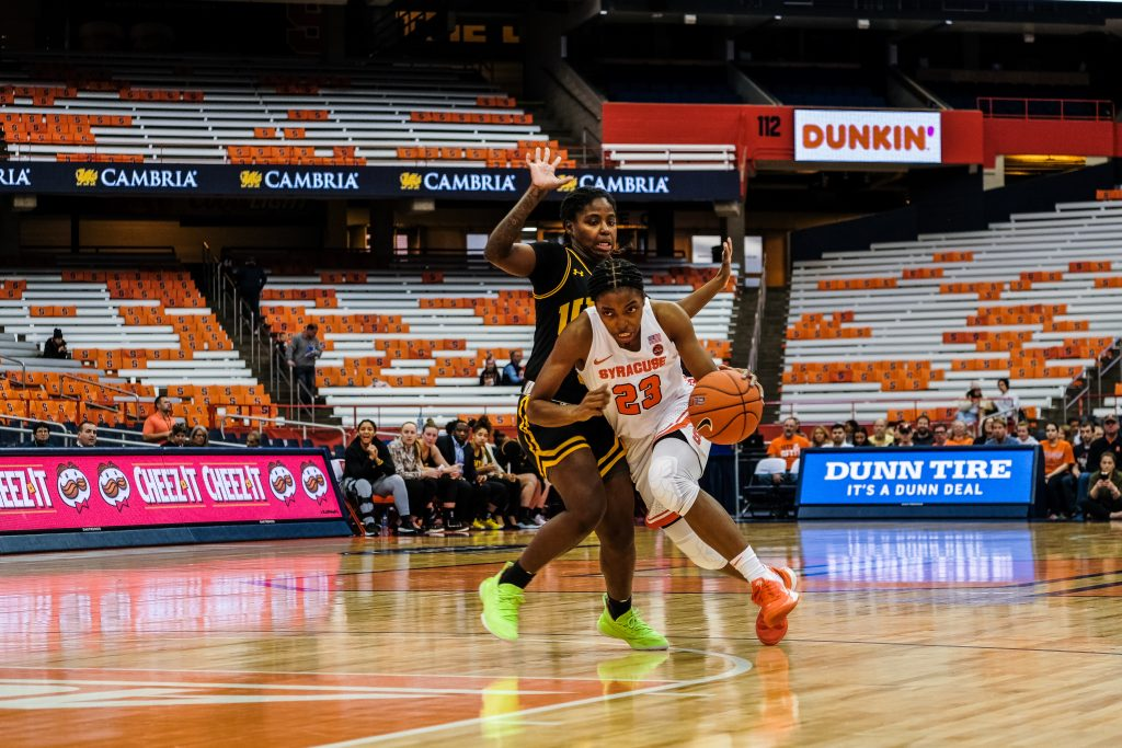 Orange snap three-game skid, rolling by UMBC